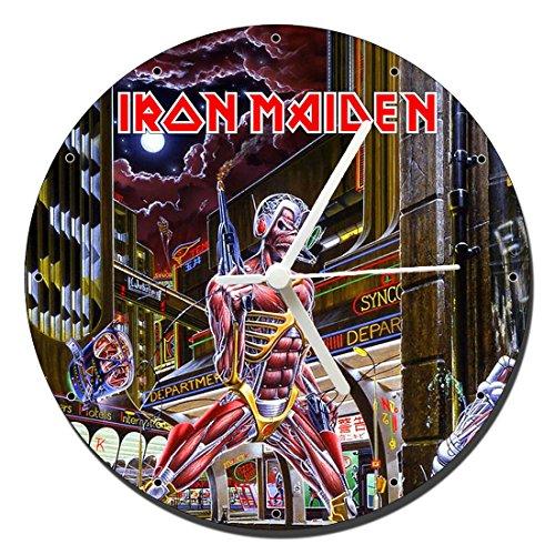 MasTazas Iron Maiden Somewhere In Time Reloj de Pared Wall Clock 20cm