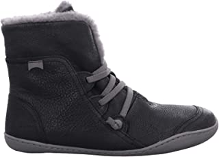 Camper Womens Peu Cami 46477 Leather Black Boots 6 US