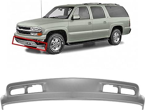 Amazon Com Mbi Auto Textured Gray Front Bumper Lower Air Deflector Valance For 1999 2002 Chevy Silverado 99 02 2000 2004 Suburban Tahoe 00 04 Gm1092167 Automotive