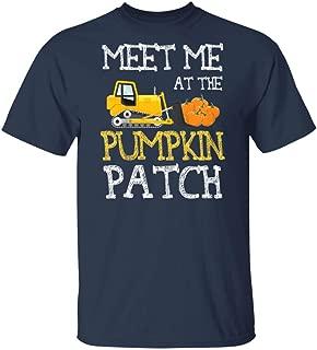 LeetGroupAU Kids Thanksgiving Kids Boys Meet Me at The Pumpkin Patch T-Shirt
