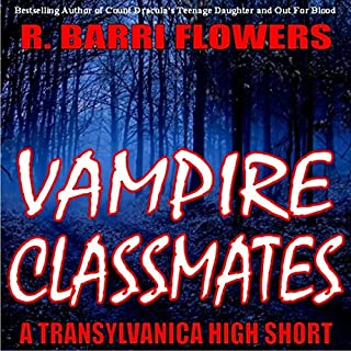 Vampire Classmates audiobook cover art