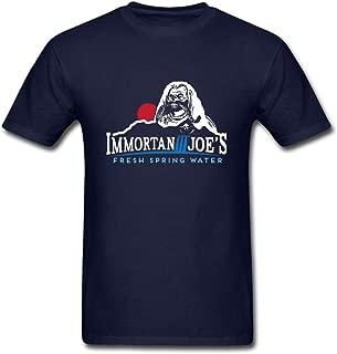 Hillet Men's Immortan Joe's Fresh Spring Water Cotton Graphic T-Shirt