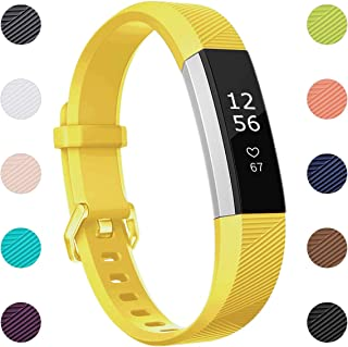 Maledan Compatible with Fitbit Alta Bands(XS/S/L), Replacement Accessories Sport Strap Band for Fitbit Alta HR/Alta/Ace, Women Men