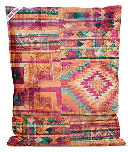 lifestyle4living Sitzsack Big Bag Bursa, Rückseite in Petrol, 380 l Volumen, Maße: B/H/T ca. 130/170/20 cm