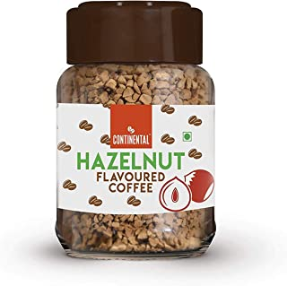 Continental Hazelnut Flavoured Coffee 50g Jar