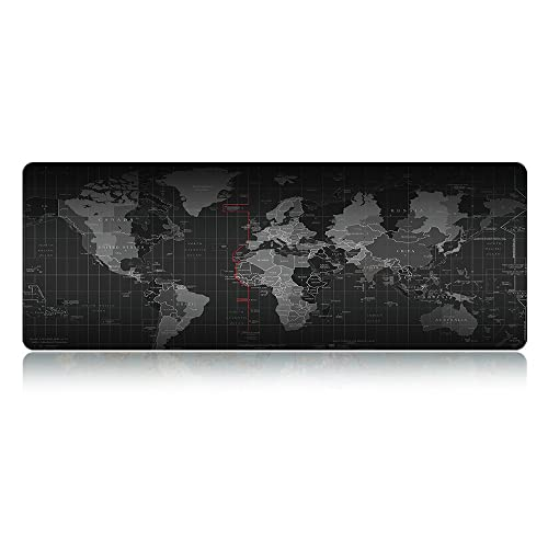 Party Favors Clever Creative Gaming Mousepad World Map Anti-slip Edge Waterproof Rubber Desk Mouse Mice Pad For Pc Desktop Spare No Cost At Any Cost Festive & Party Supplies