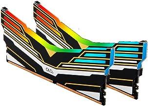 OLOy DDR4 RAM 32GB (2x16GB) Warhawk Aura Sync RGB 3600 MHz CL18 1.35V 288-Pin Desktop Gaming UDIMM (MD4U163618DEDA)