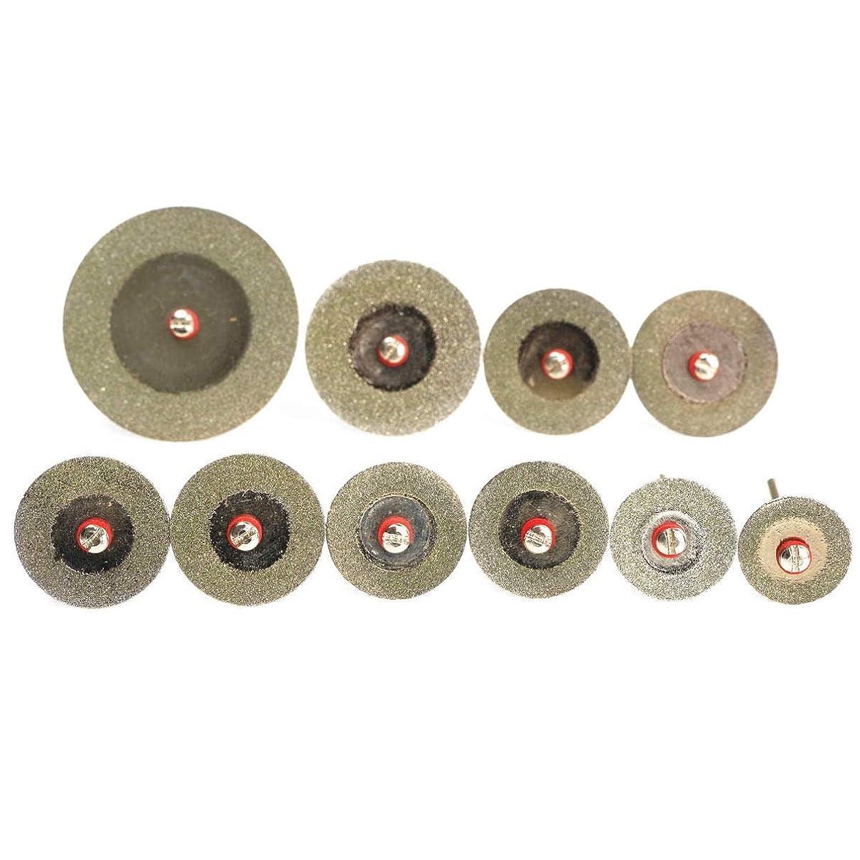 集まる検査官不器用ST-ST 回転工具の鋸刃のためにディスクセットミニドリルカットオフホイールソーブレードキットカット10個入り16?40ミリメートルダイヤモンド