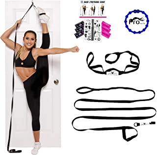 Stunt Stand Door Flexibility & Stretching Leg Strap – Great for Cheer, Dance,..