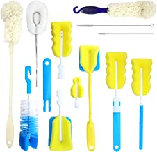 ASOFFI 11 Pieces Multipurpose Cleaning Bottle Brush Set, Kitchen Wire Scrub for Cleaning Scrubber Brush,Straws,Nipple Brush,Baby Bottle,Glass Jugs