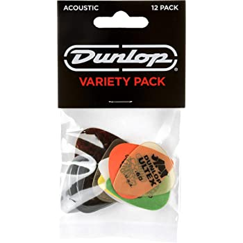 Jim Dunlop Acoustic Variety Pack Guitar Picks (PVP112)