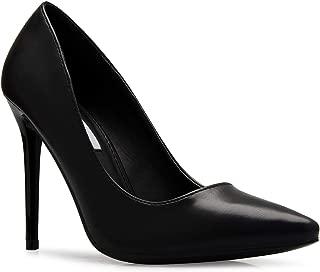 Women's Classic D'Orsay Closed Toe High Heel Pump - Casual Comfortable
