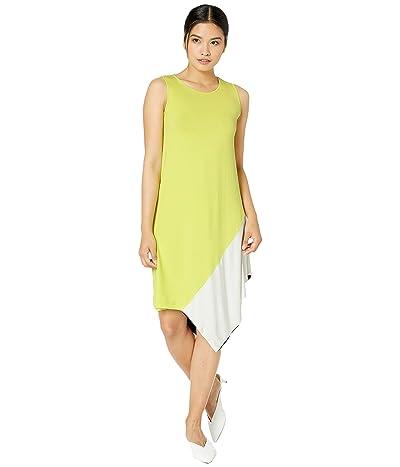 FUZZI Color Block Cotton Jersey Dress (Multi) Women