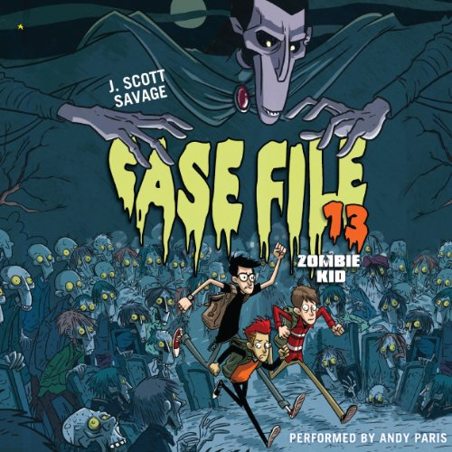 Case File 13: Zombie Kid                   By:                                                                                                                                 J. Scott Savage                               Narrated by:                                                                                                                                 Andy Paris                      Length: 6 hrs and 3 mins     12 ratings     Overall 4.4