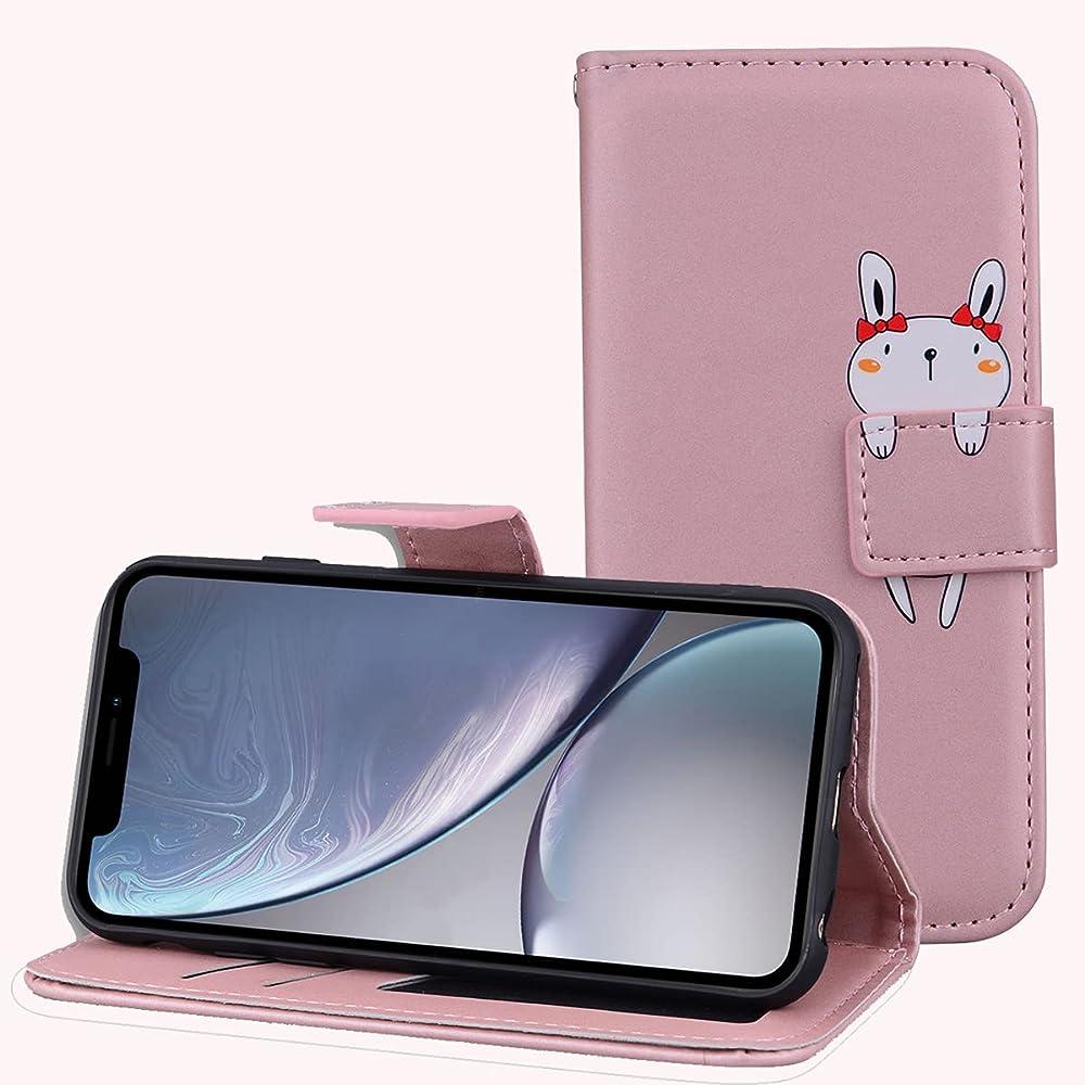 Leinuo custodia per apple iphone 12 mini portafoglio porta carte di credito in pelle sintetica LN-KA-IP-12 5.4-fen