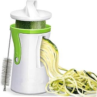 CULER Heavy Duty Spiralizer Vegetal Vegetable Slicer Cortador Espiral máquina de Cortar el calabacín Pasta de Fideos Espaguetis Fabricante