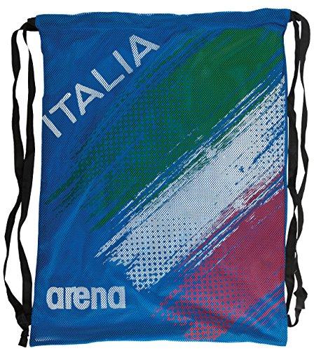ARENA Fast Mesh Fin Italien Bag, Royal, Tu