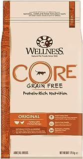 Wellness CORE Adult, Getreidefreies Katzenfutter Trocken, Hoher Fleischanteil, Ohne Künstliche Zusatzstoffe, Verschiedene ...