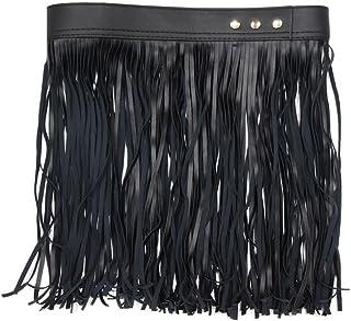 [RONDEL-BLACK(ロンデルブラック)]フリンジベルト ダンス衣装 ステージ衣装 ベルト 小物 NF