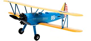 E-flite RC Airplane UMX PT-17 BNF (Transmitter not Included) with AS3X, 388mm, EFLU3080