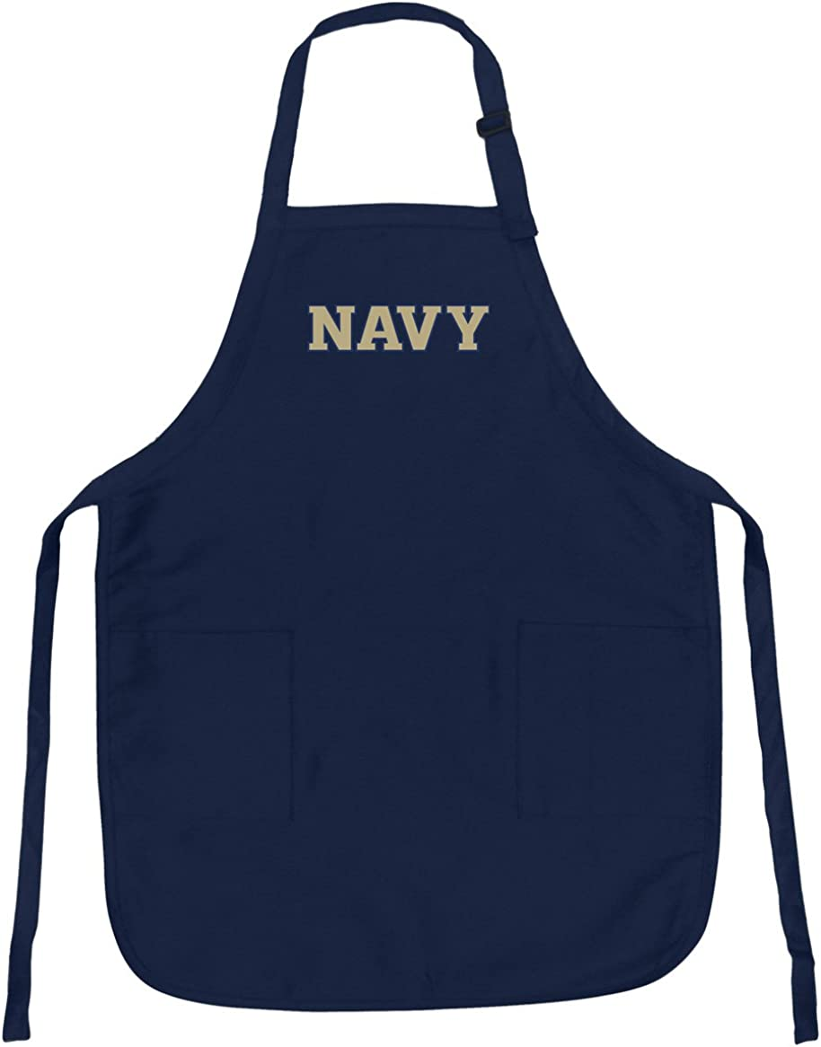 Naval Academy Apron Stain セットアップ 全国一律送料無料 USNA Navy Aprons Release