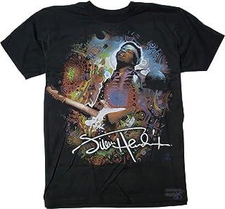 ジミー・ヘンドリックス公式メンズTシャツ(ブラック)