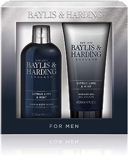 Baylis & Harding Men's Sport Citrus Lime & Mint 2 Piece Set, 0.756 kilograms