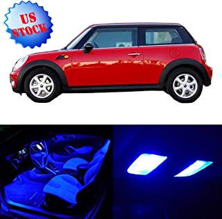 SCITOO LED Interior Lights 11pcs Blue Package Kit Accessories Replacement for 2003 2004 2005 2006 2007 2007 2009 Mini Cooper
