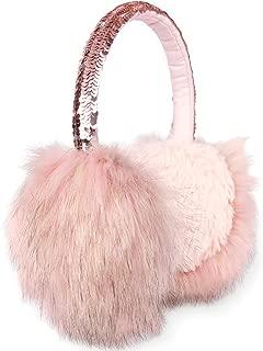 Earmuffs Girls Earmuffs in Plush and Flip Sequin Design