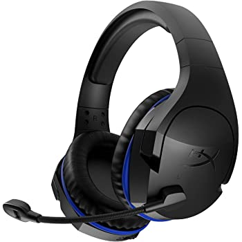 HyperX Cloud Stinger Wireless - Gaming Headset with Long Lasting Battery up to 17 Hours of Use, Immersive In-Game Audio, Noise Cancelling Microphone, Comfortable Memory Foam, and Designed for PS4