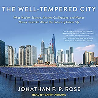 The Well-Tempered City audiobook cover art