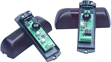 1 paar universele 180° draaibare 12V-24V AC-DC universele sensor voor buitenshuis wandtoepassing aanpasbaar voor elke auto...