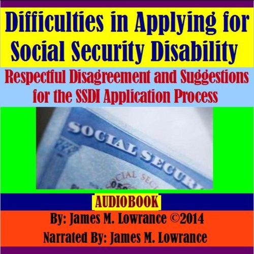 Difficulties in Applying for Social Security Disability audiobook cover art