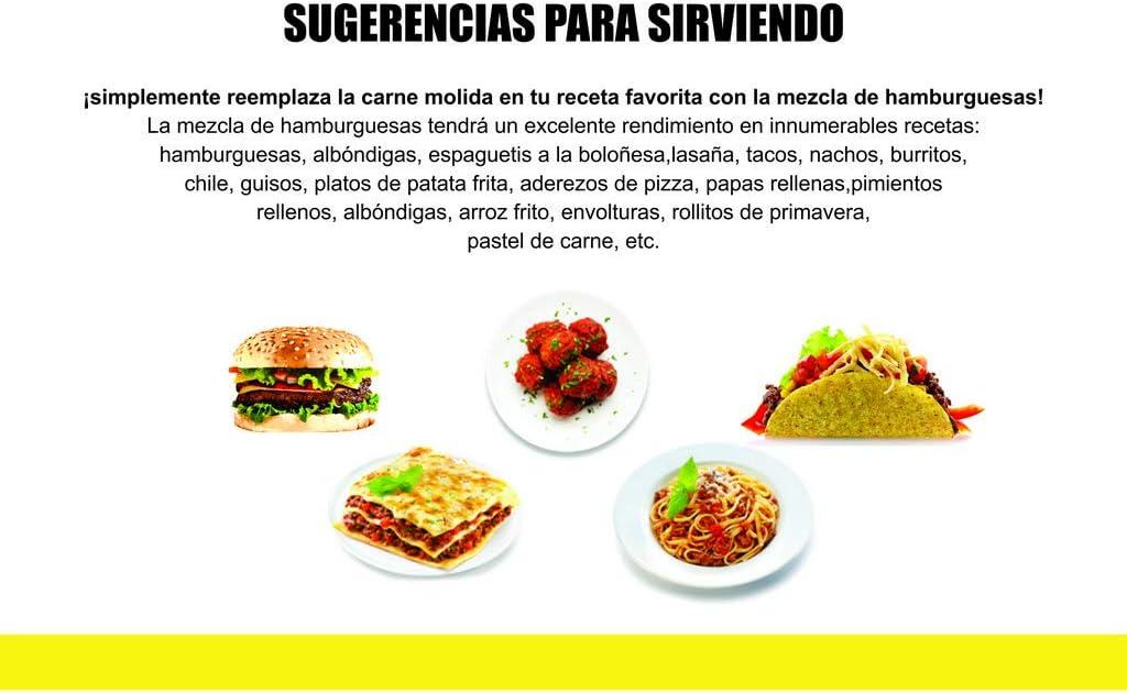 Mezcla de Carne Vegana Instantánea Perfecto para cocinar 200g | proteína de soja | Vegano | 100% Sin Gluten (Pack de 1)