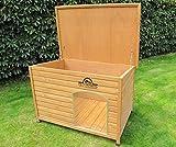 Pets Imperial® Große, isolierte Norfolk Hundehütte aus Holz mit entfernbarem Boden zur einfachen Reinigung DE - 2