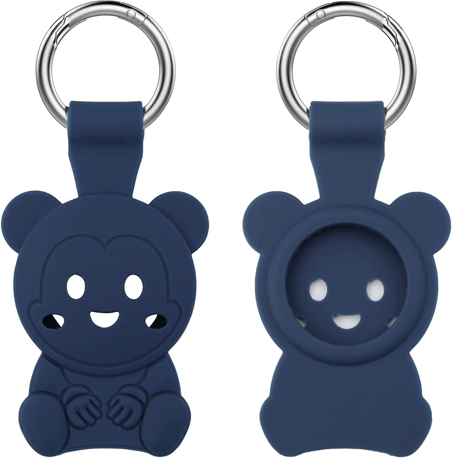 1-Pack Sale SALE% OFF Silicone Case Key Chain for Cute Apple Cover shopping AirTag Bear