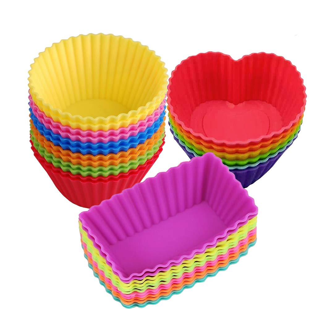 Silicone Baking Cupcakes Storage Container 28