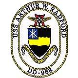 DD-968 USS Arthur W Radford Patch