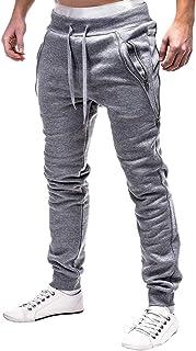 comprar comparacion VPASS Pantalones para Hombre,Pantalones Moda Pop Casuales Chándal de Hombres Jogging Pants Trend Largo Pantalones Diseño d...