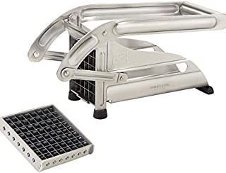 La Bonne Graine N3023 Coupe-Frites Ménager + 2 Grilles Inox 8/10 mm