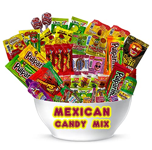 """Mexican Candy Assortment Mix (42 Count) """"La Dulceria Mexicana"""" by Look-On"""