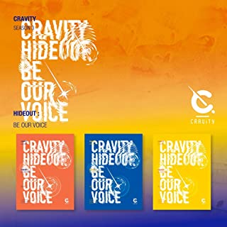 Starship Entertainment CRAVITY - SEASON3. [Hideout: BE Our Voice] Album+Pre-Order Benefit+Folded Poster+Extra Photocards S...