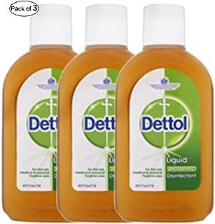 Dettol Liquid Antiseptic 250ml (Pack of 3)
