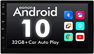 2021 Newest Android 10 Double Din Car Stereo, Eonon Android Head Unit with IPS Screen, 7 Inch Car Stereo Car Radio GPS Nav...