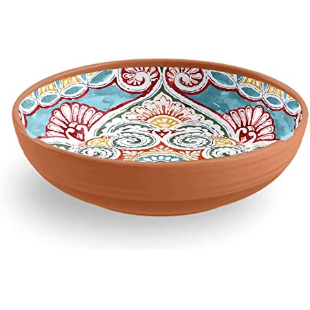 Epicurean Rio Corte 27cm Melamine Dinner Plates Set of 2