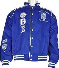 Buffalo Dallas Phi Beta Sigma Fraternity Mens Racing Twill Jacket
