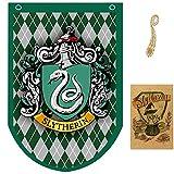huici Birthday Decor for Harry Flag Potter Banderas Pared de Estilo,...