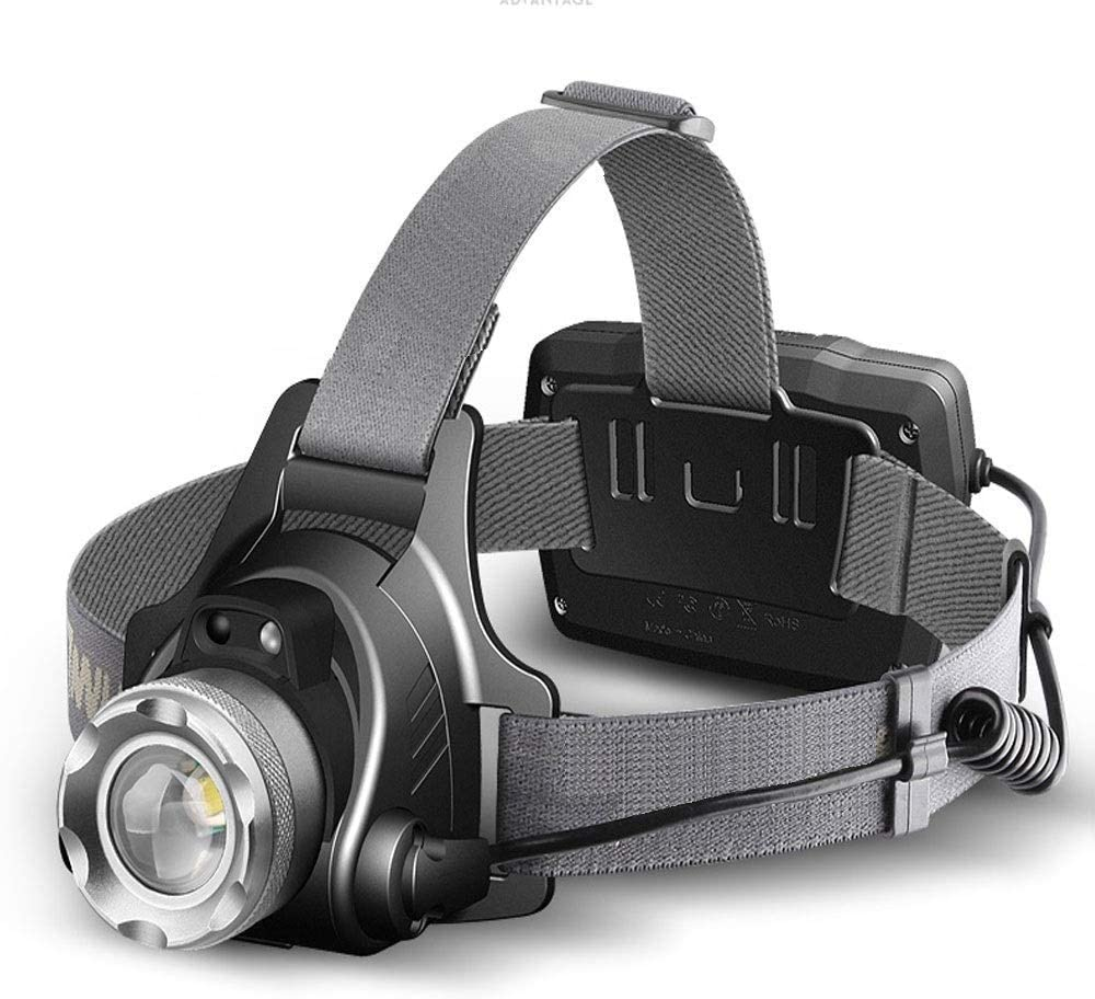 Finally resale start JKLL USB Rechargeable Headlamp Flashlight - of Co Great interest to Hours 30 up