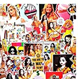 MDGCYDR Pegatinas Coche Personalizadas American Drama Bankrupt Sister Graffiti Pasta Maleta Skateboard Notebook Maleta Impermeable Personalidad Coche Etiqueta Engomada del Coche 50 Uds