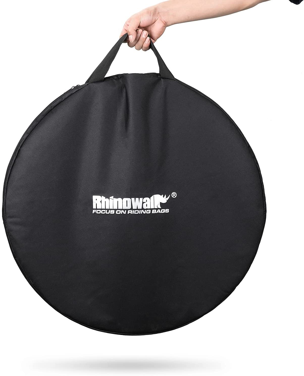 Rhinowalk Bike discount Wheel Bag Wheelset Carrying MTB to 29 Topics on TV 26 inch
